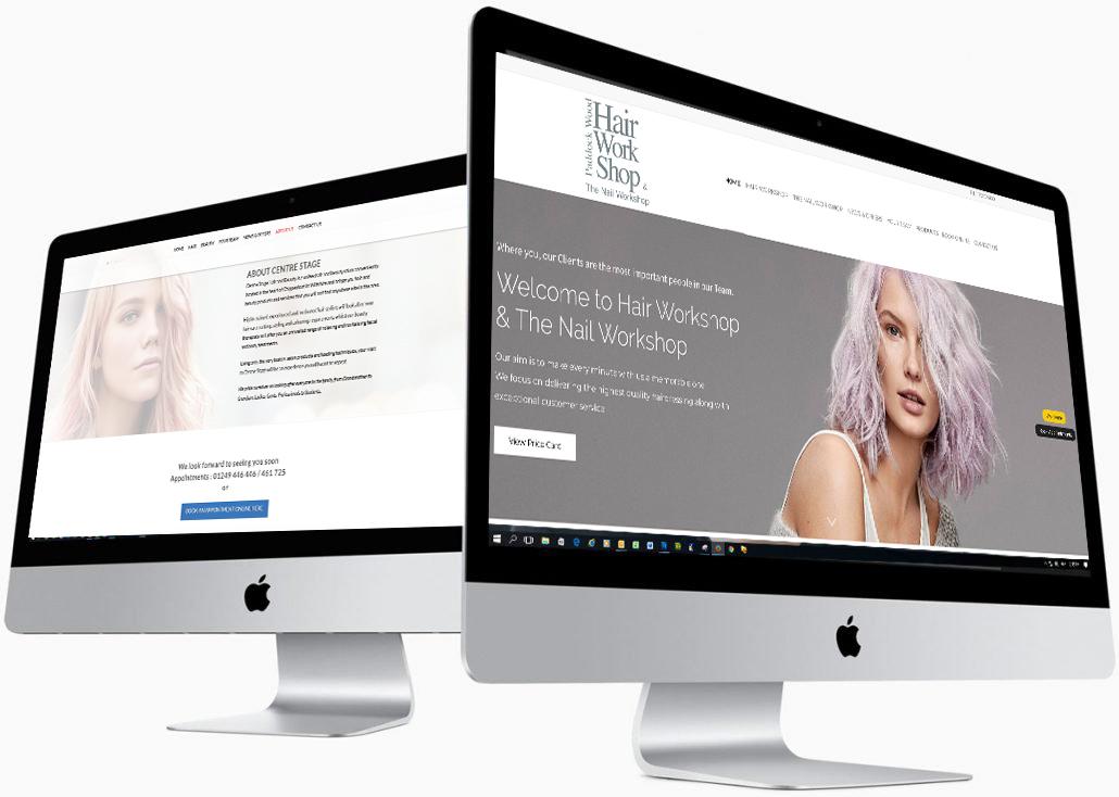 Website Design for Hair Salons